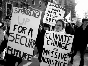 Climate Justice B&W